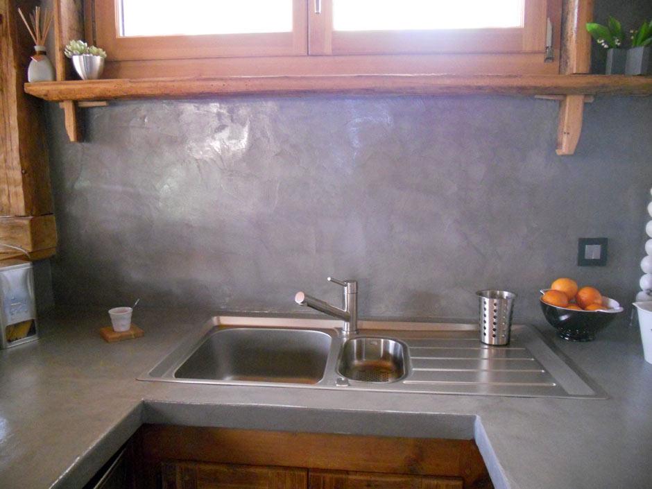 Photos De Beton Cire Enduits Metalliques De Beton Terrazo Fr
