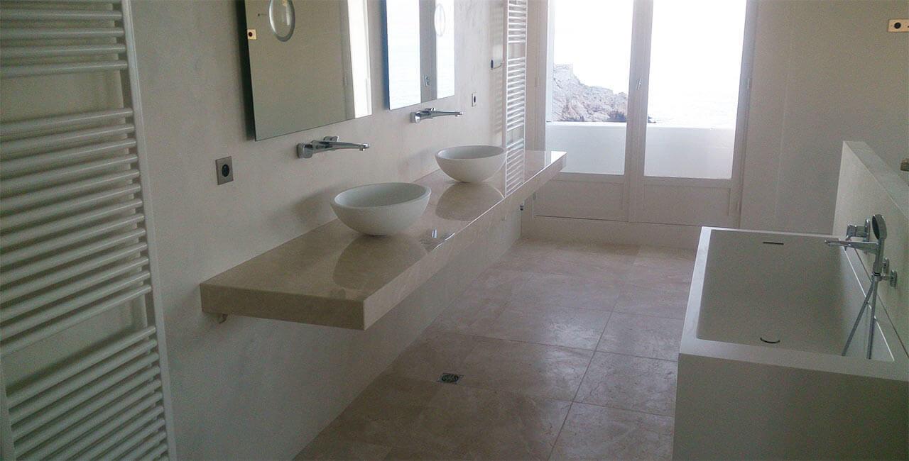 beton-cire-bain