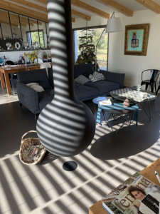 Sol Cementoresina meublé