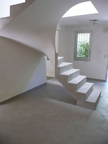 escalier beton cire escaliers bton cir with escalier beton cire escalier en bton cir with. Black Bedroom Furniture Sets. Home Design Ideas